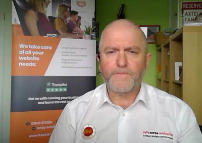 Website Consultant – Andy Axtell, it'seeze Websites
