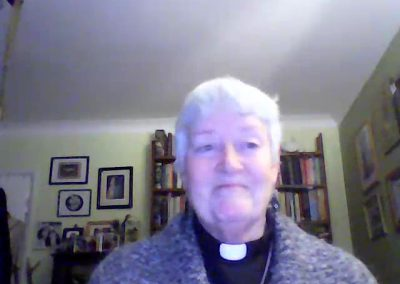 Church of England Parish Priest, Coralie Mansfield