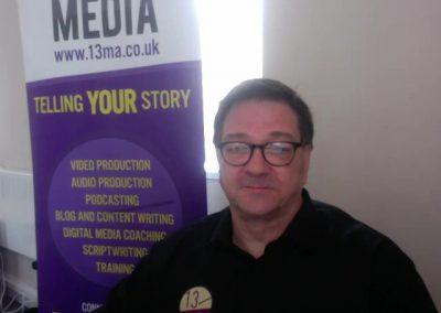 Creative Director – Kevin Robinson, 13 Media