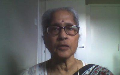 Teacher – Mondira Sinha-Ray, Retired